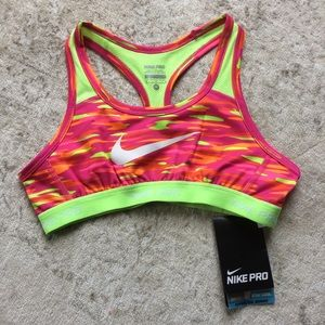 New With Tags Nike Pro Sports Bra Top!